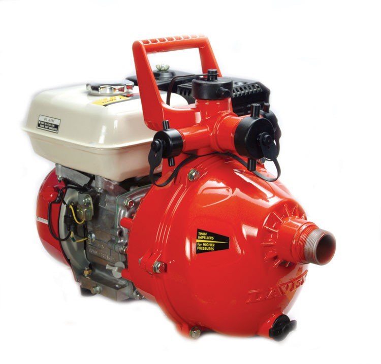 Davey Firefighter 5 Two Stage Pump W 5 5 Hp Honda Ohv