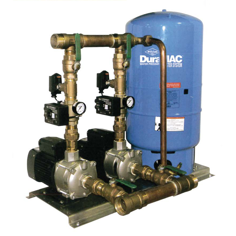 Duramac Commercial Duplex Booster Systems Primo Pumps