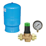 Pressure Tanks,<br>Regulators & Gauges